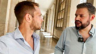Entrevista de OKDIARIO con Rubén Pulido.