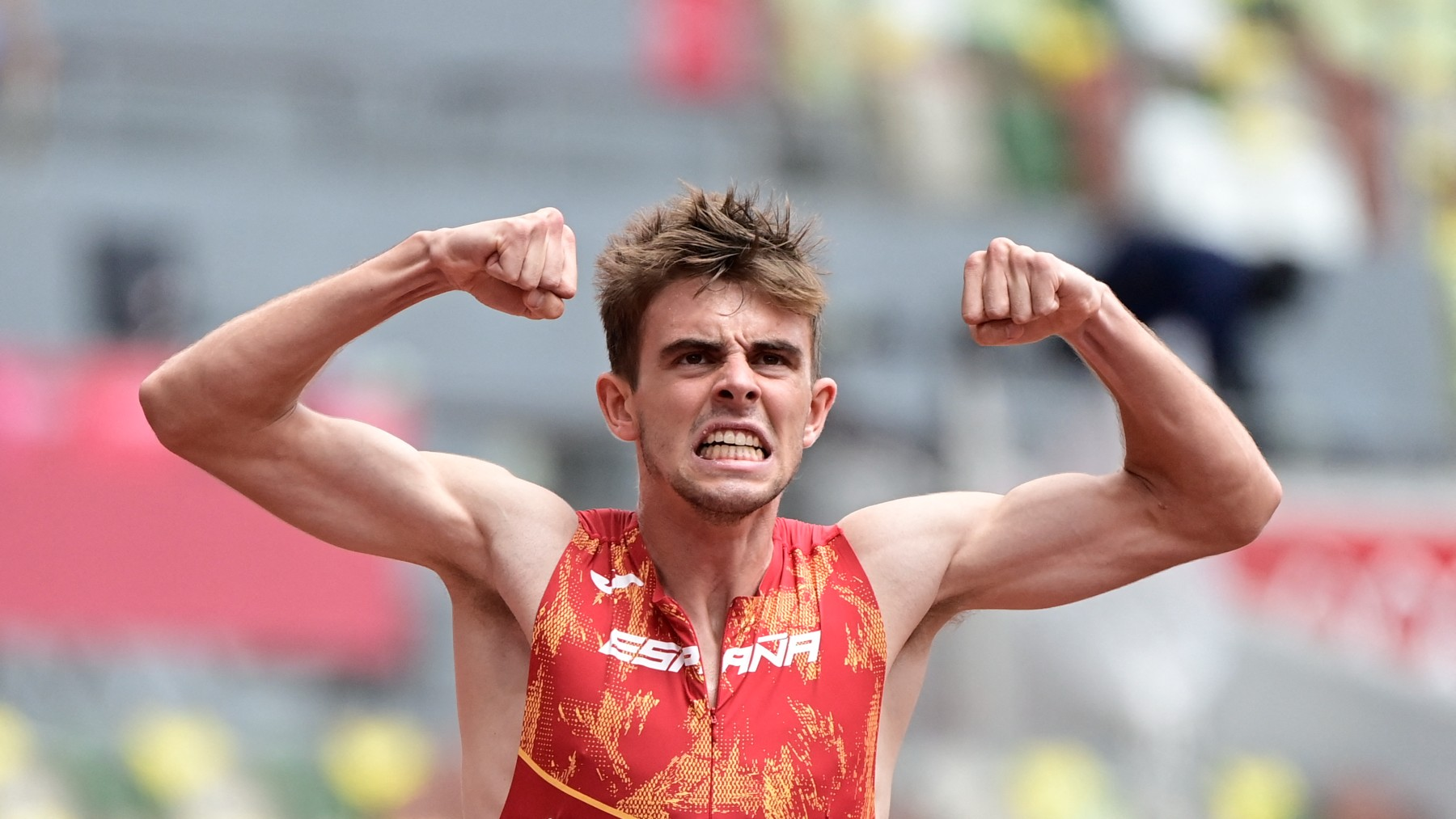 Adrián Ben, en los Juegos de Tokio. (AFP)
