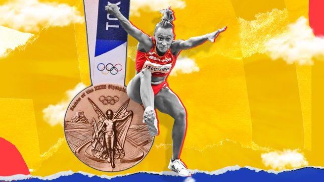 Ana Peleteiro vuela hasta la medalla de bronce