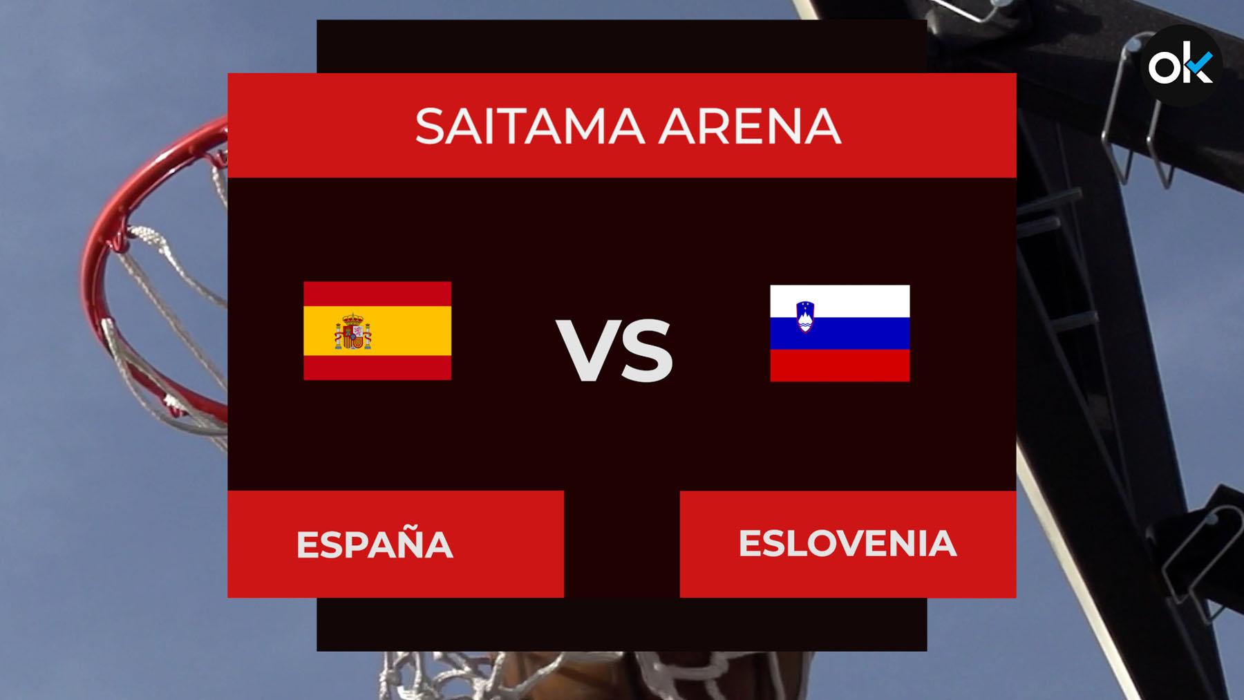 España – Eslovenia