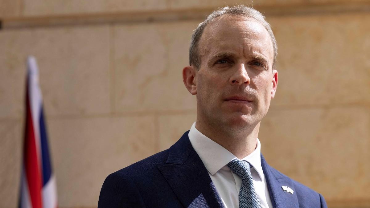 El ministro de Exteriores de Reino Unido, Dominic Raab.