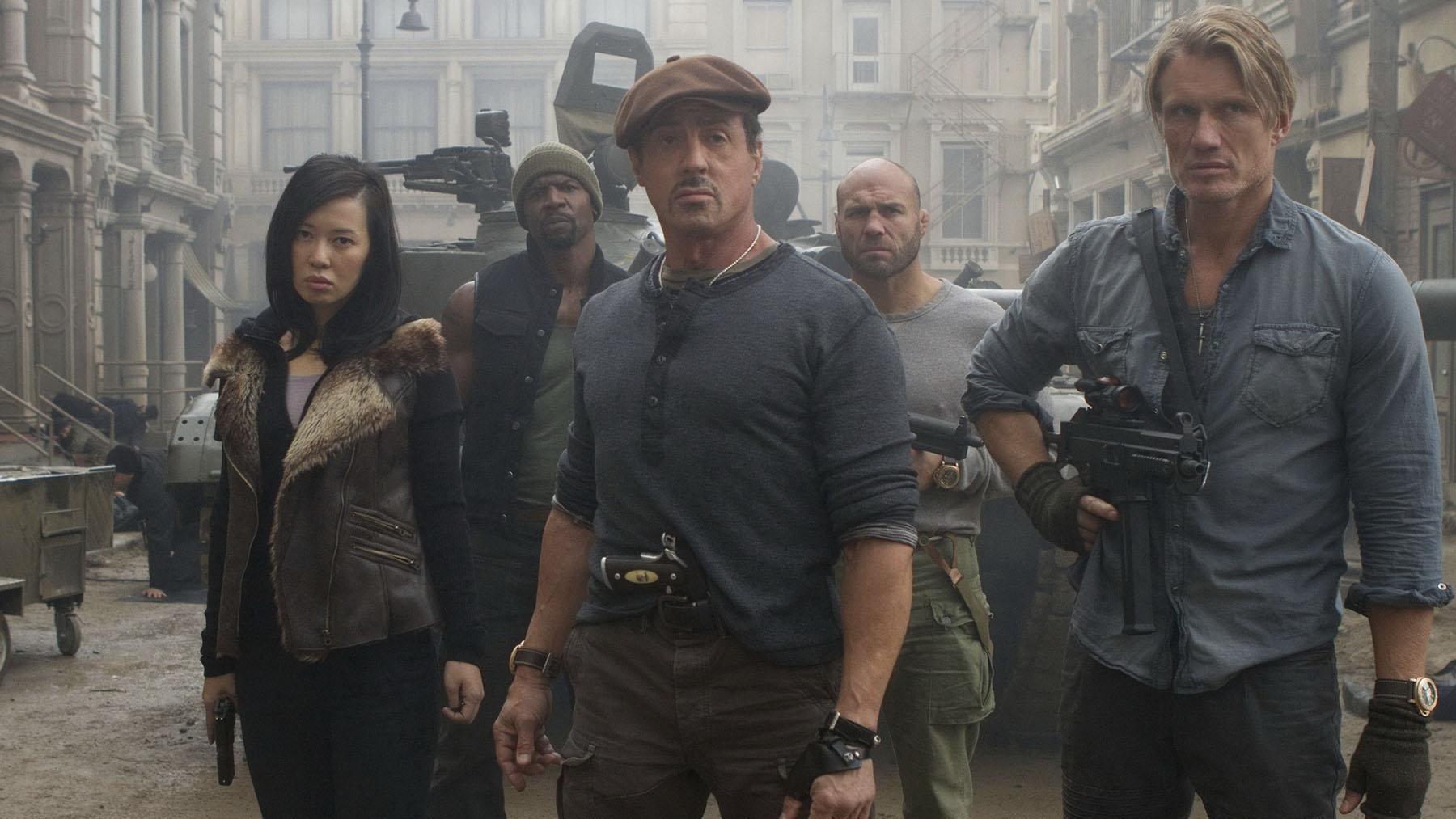 «Los mercenarios 2» (Milenium Films)