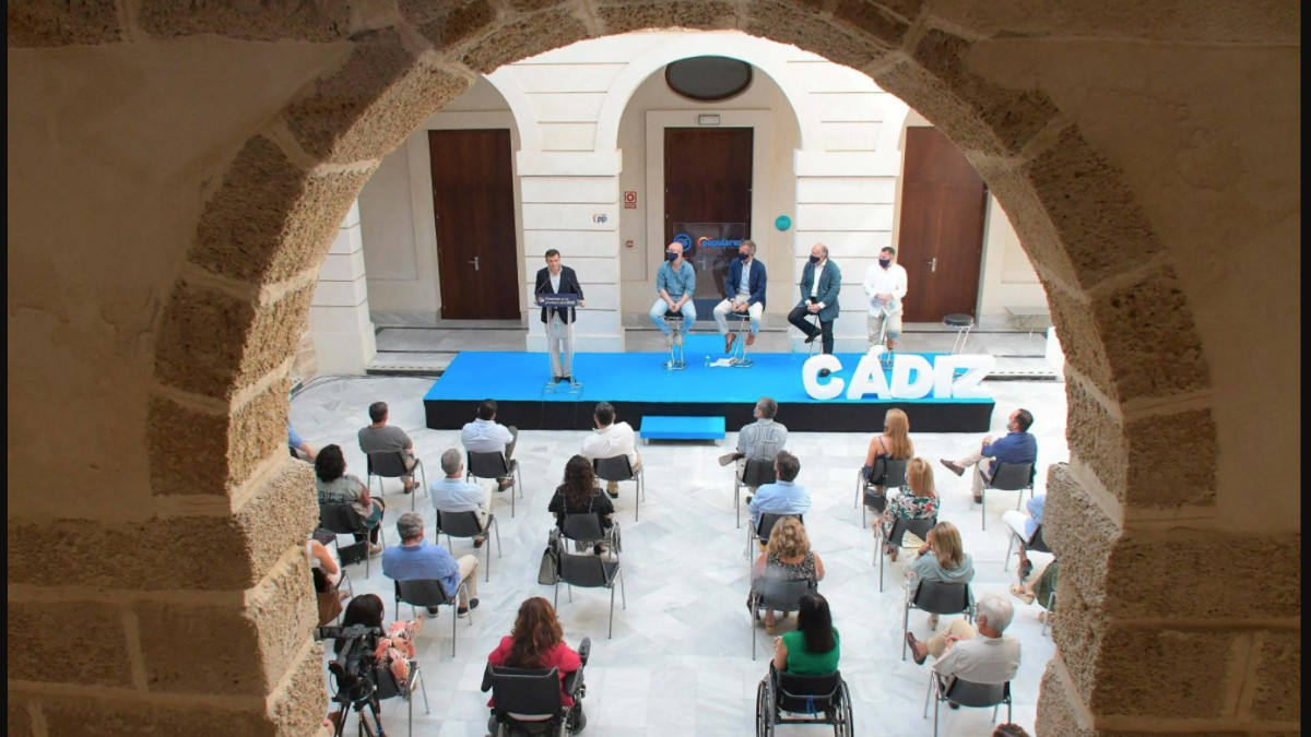 Intervención de Antonio González Terol en la Intermunicipal del PP de Cádiz.