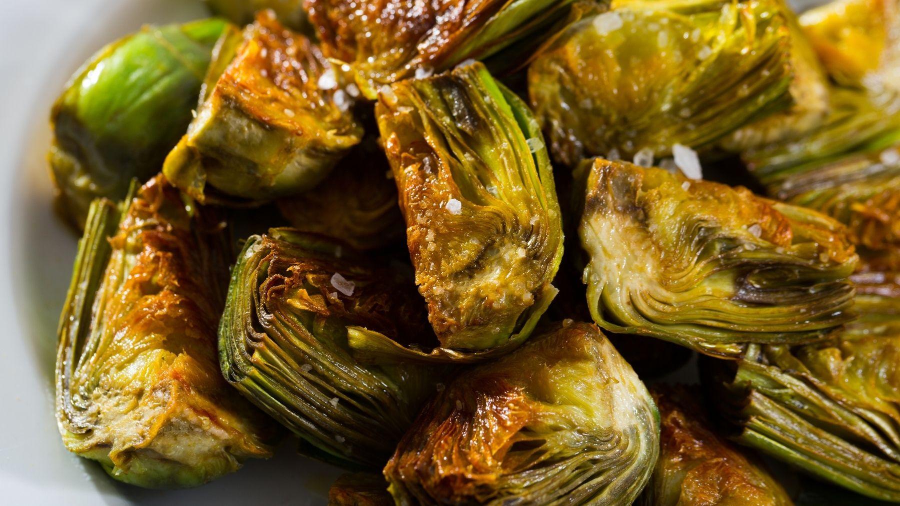 Receta de alcachofas fritas con miel