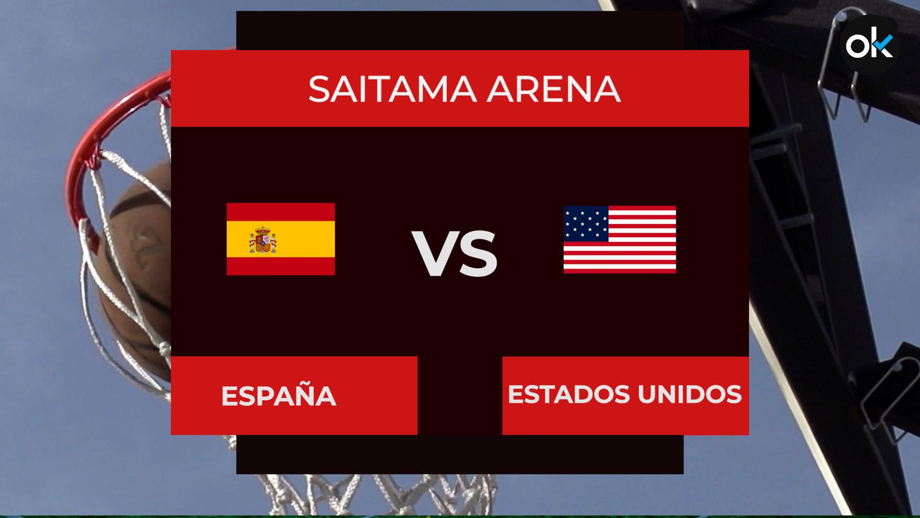 A qué hora es España – EEUU y dónde ver en directo el partido de baloncesto de los Juegos Olímpicos en TV y online.