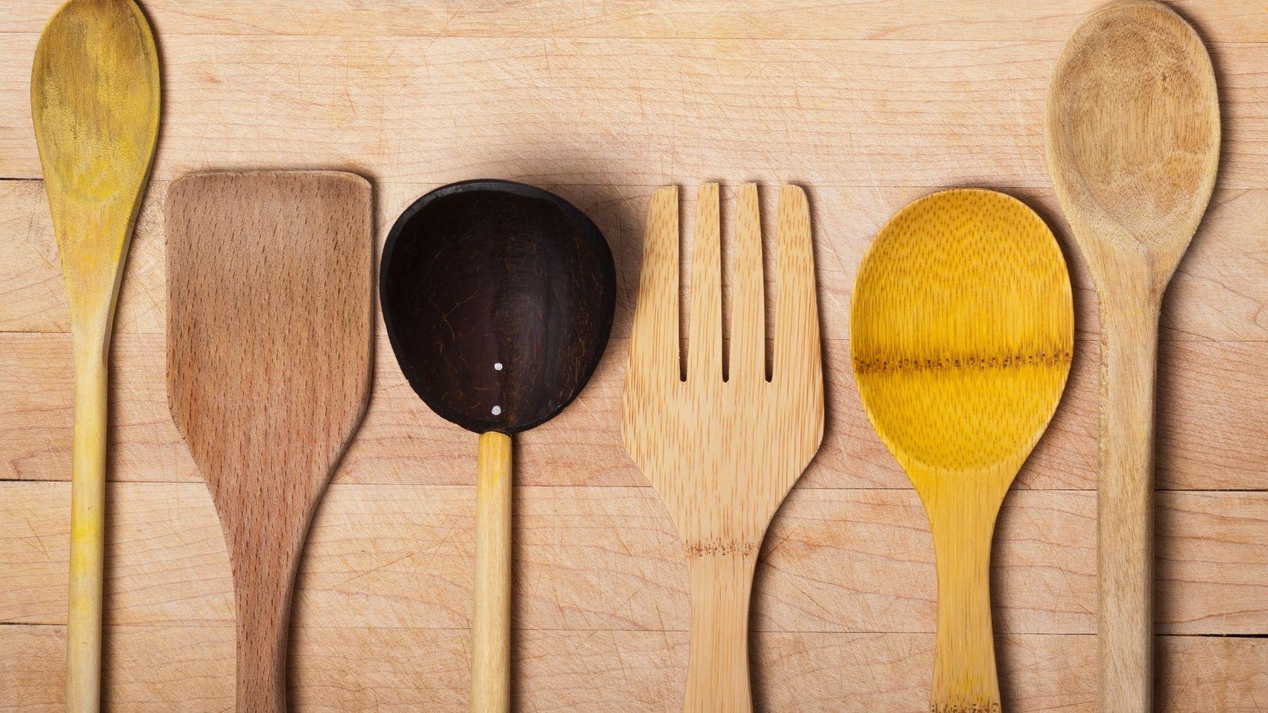 Trucos para desinfectar utensilios de madera