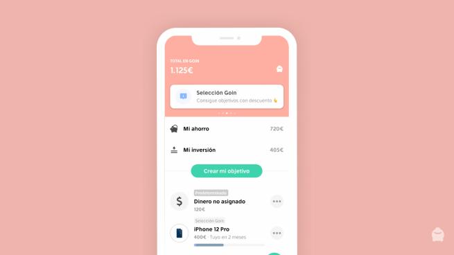 App de ahorro Goin
