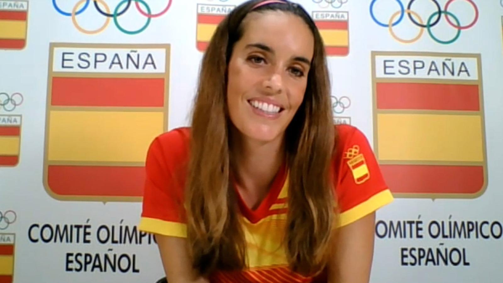 La doble medallista olímpica Ona Carbonell atiende a OKDIARIO.