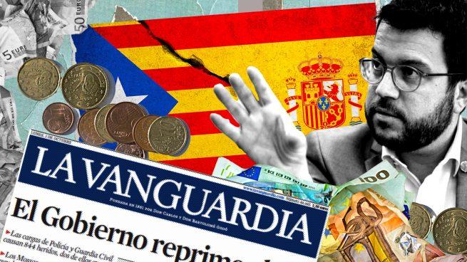 Los separatistas agradecen los favores de 'La Vanguardia' con 6,3 millones en publicidad institucional