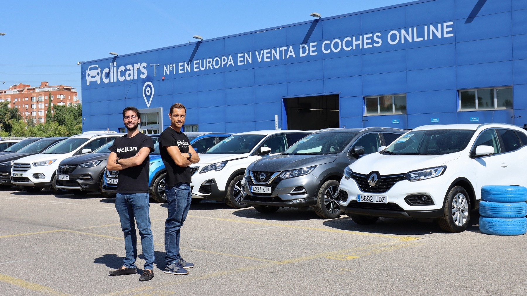 Carlos Rivera y Pablo Fernández, fundadores y CEO Clicars
