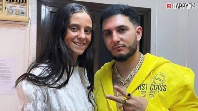 Omar Montes y Victoria Federica