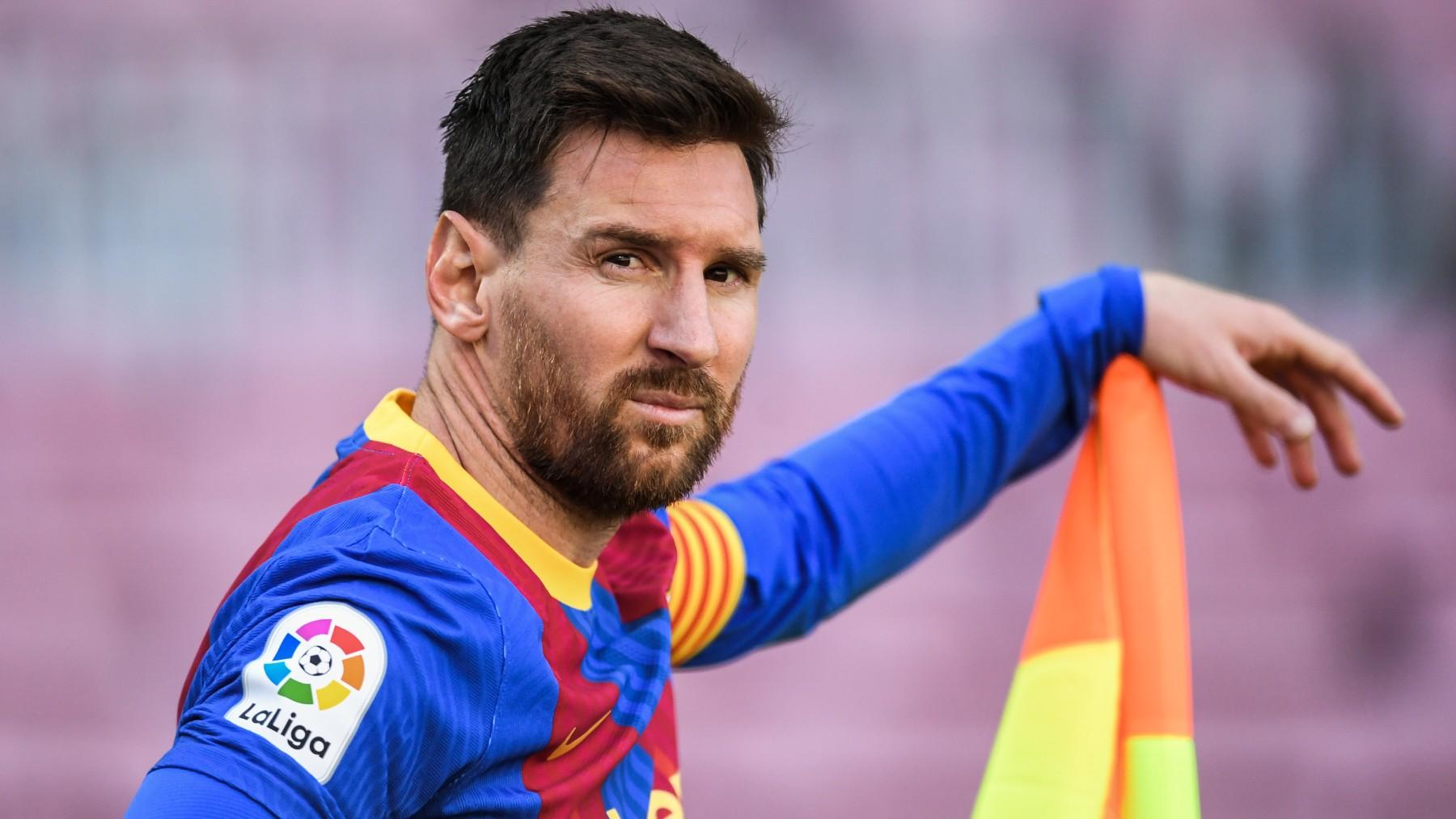 Leo Messi. (Getty)