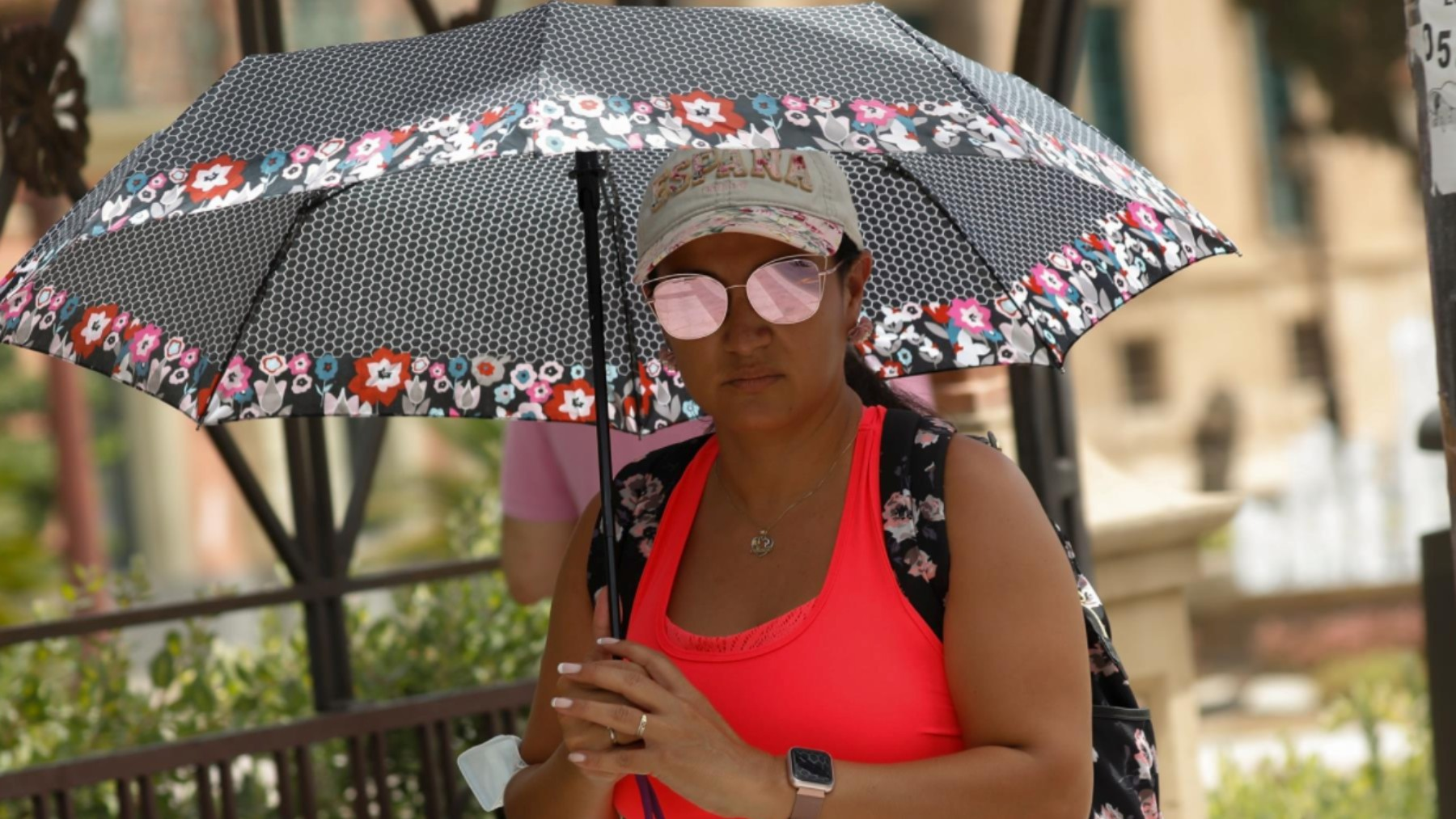 Murcia activa un dispositivo especial por el aviso de altas temperaturas.