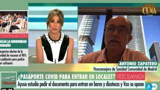 Antonio Zapatero pasaporte Covid