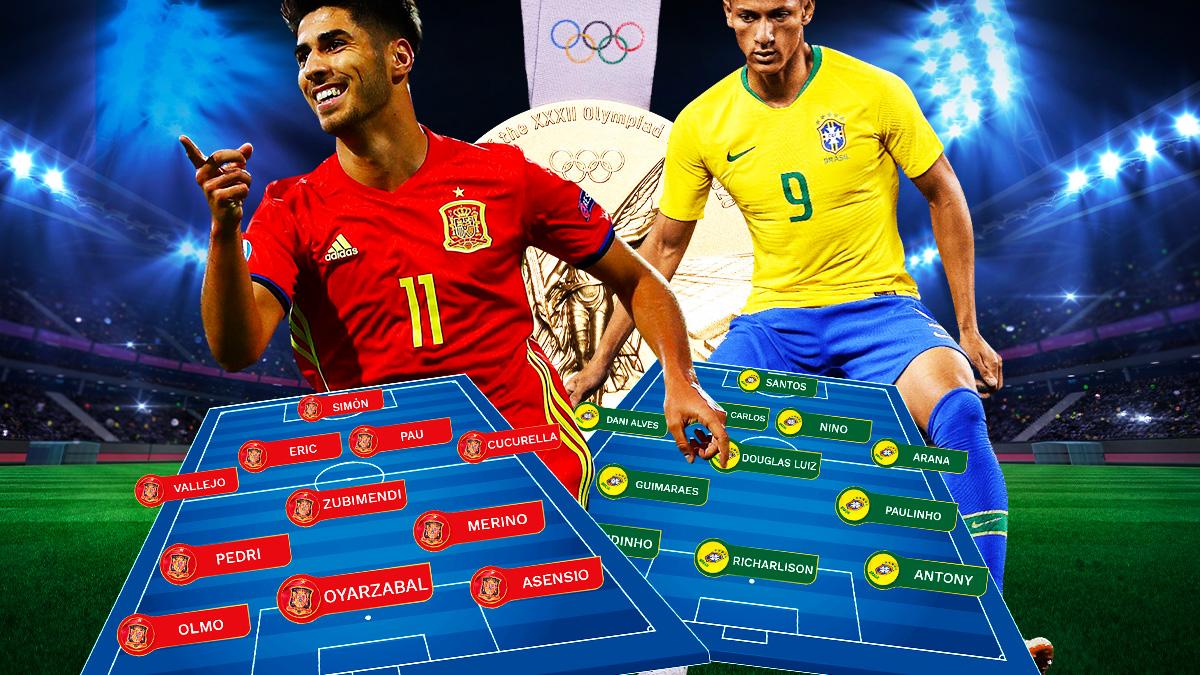 España – Brasil: ¡a por el oro!