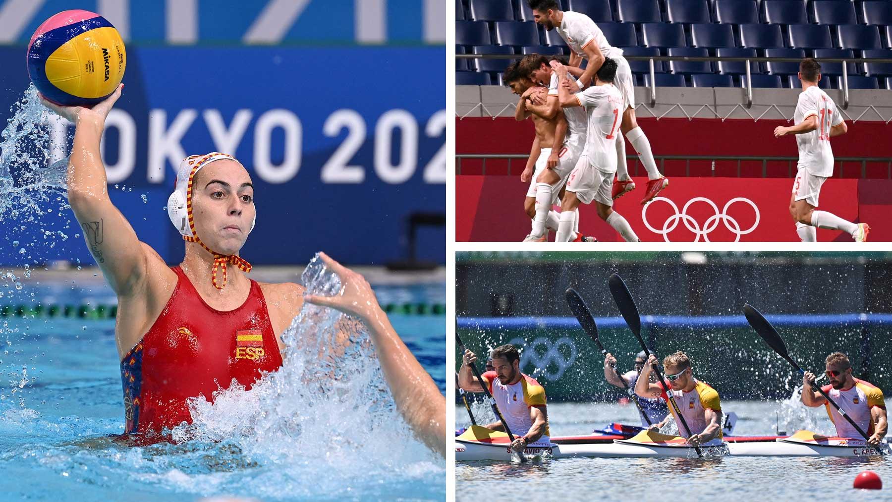 Agenda de los Juegos Olímpicos del 7 de agosto