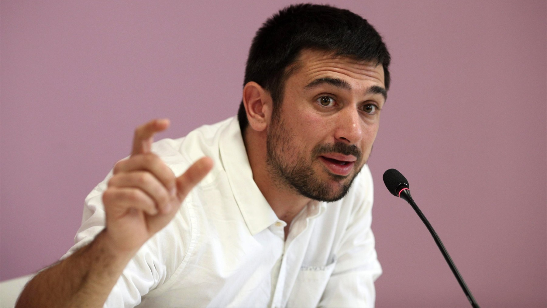 El ex dirigente de Podemos Ramón Espinar. (Foto: Europa Press)