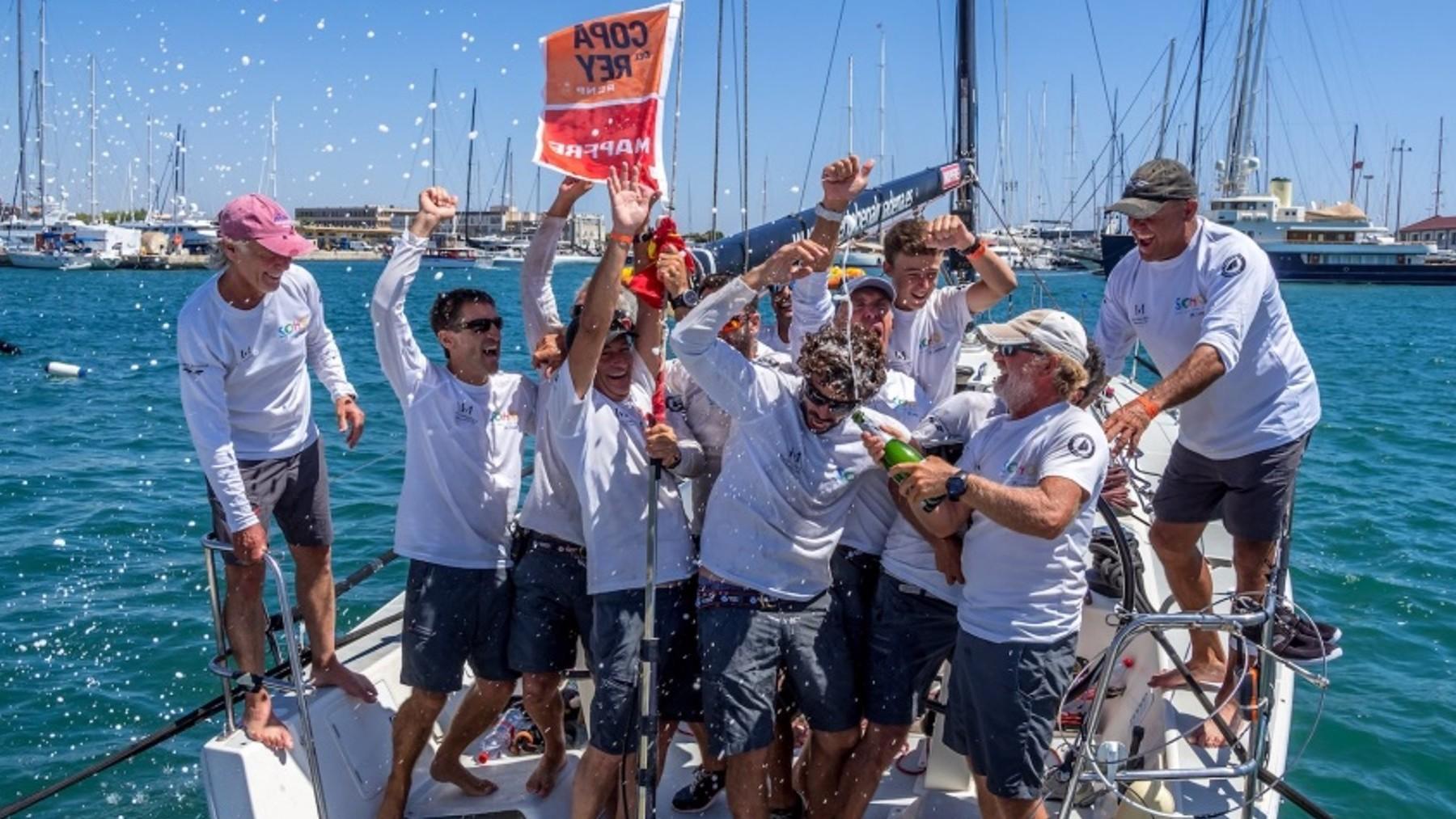 La 39º edición de la Copa del Rey de vela corona a sus campeones. Foto: EP
