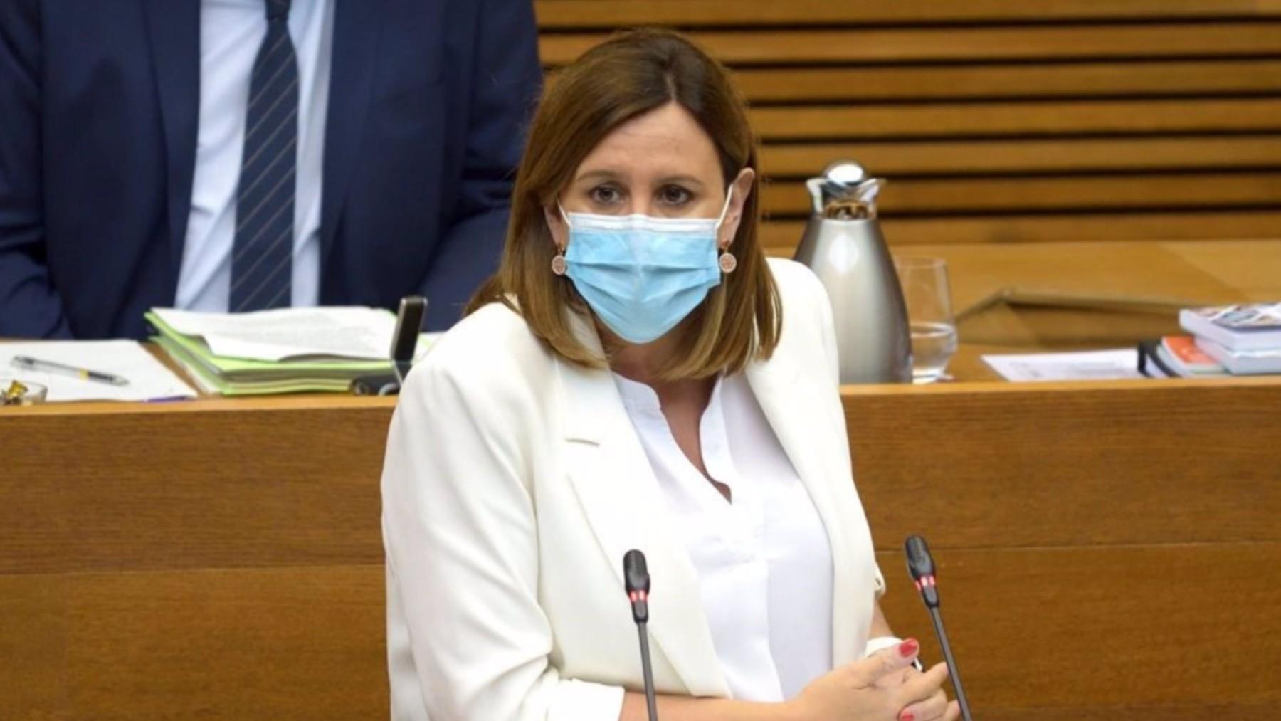 La secretaria general y diputada autonómica del PPCV, María José Catalá.