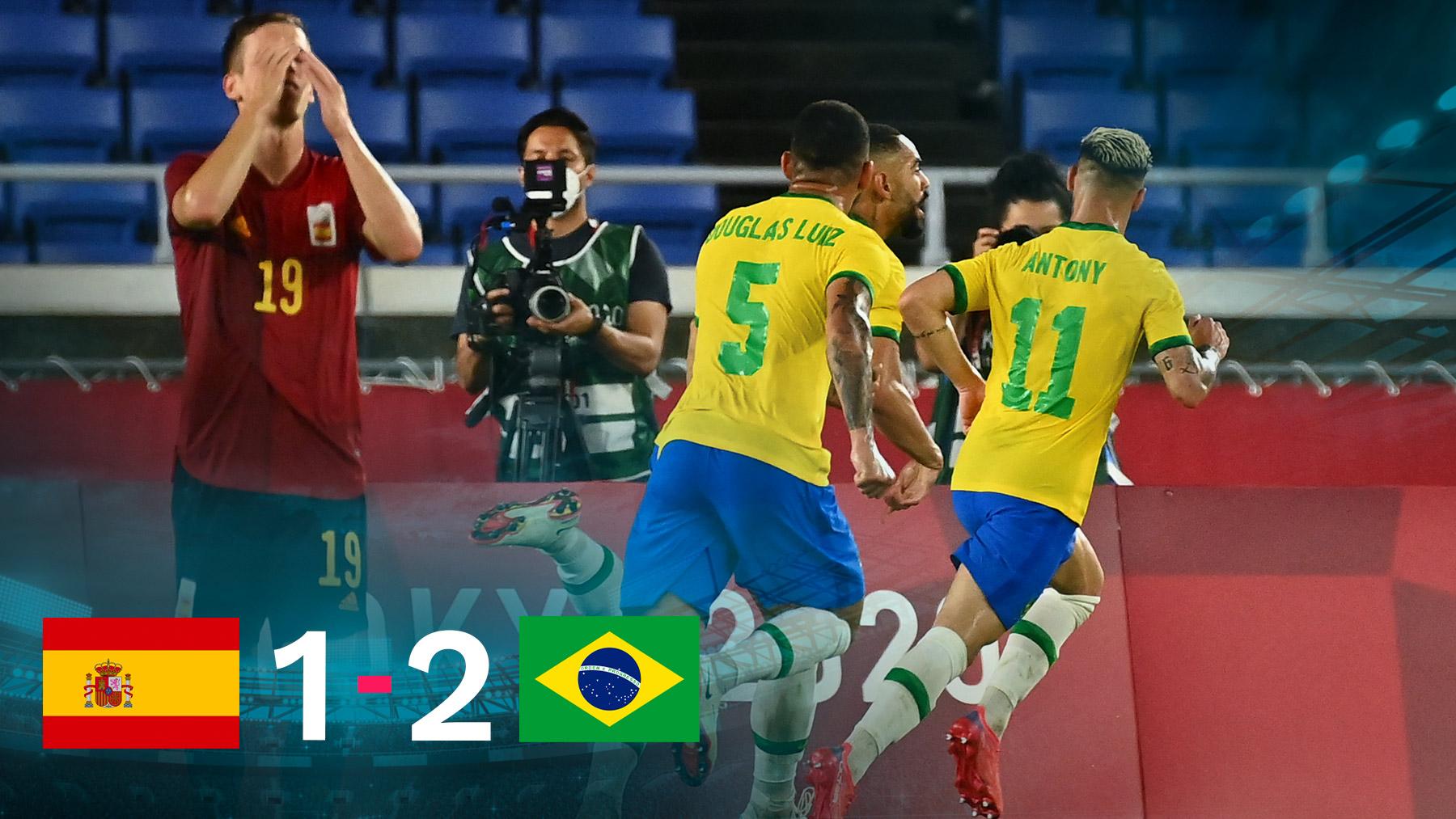 Brasil se impuso a España en la final olímpica.