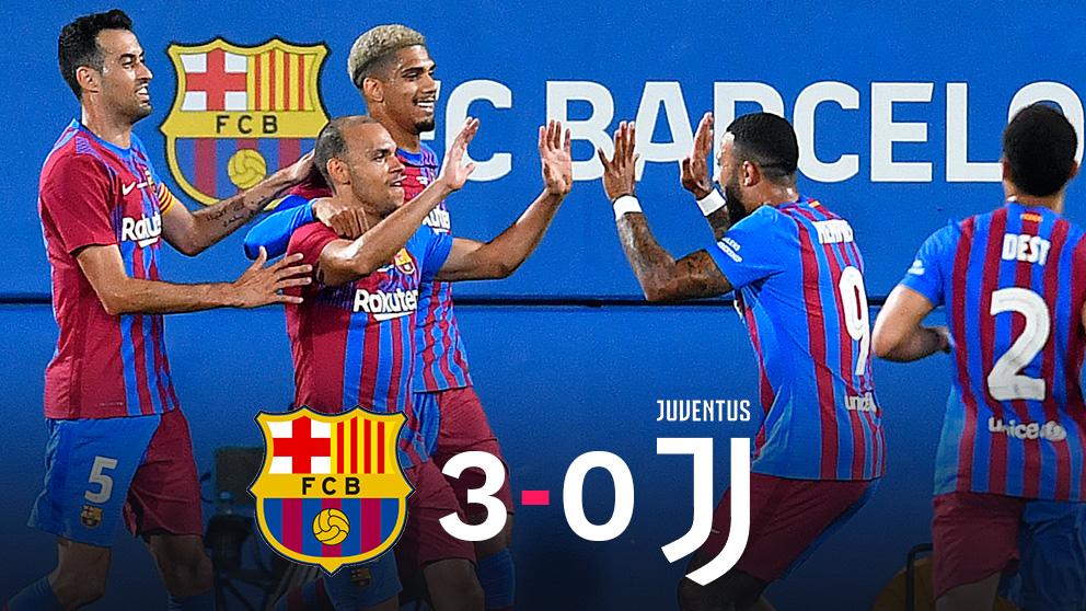 El Barça rompe el luto por Messi.