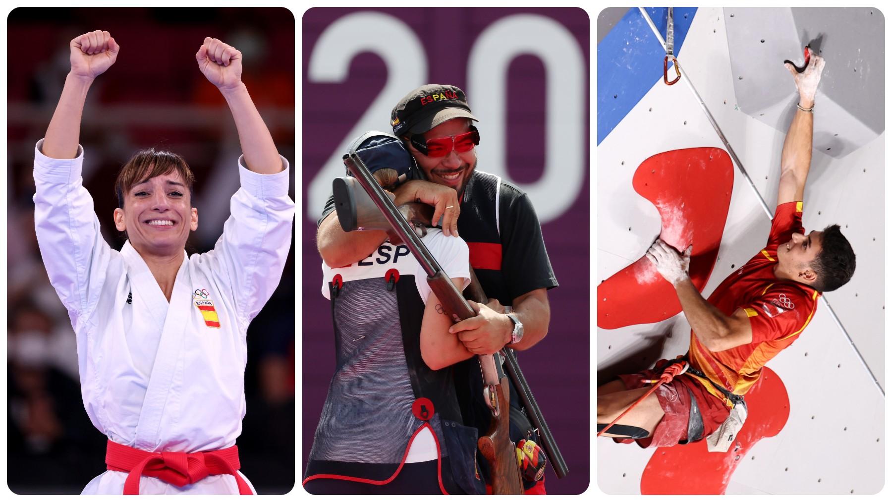 Los Juegos Olímpicos ha dejado tres medallas de oro para España. (Getty)