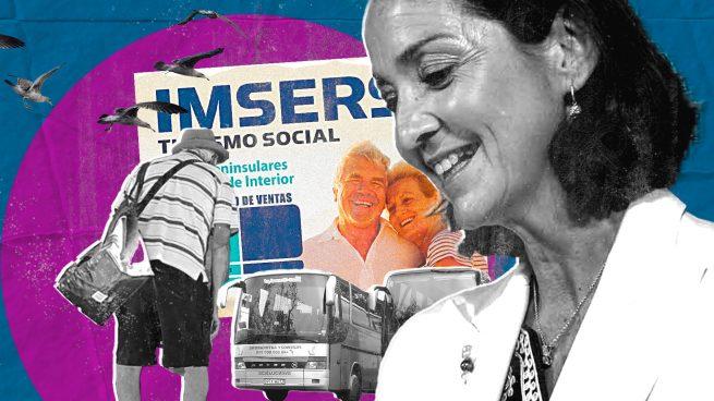 Fotomontaje de Maroto y los viajes del Imserso