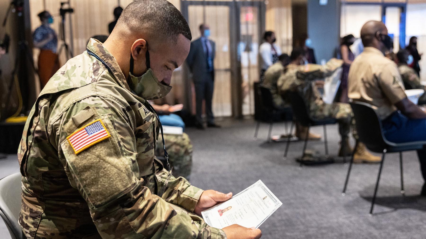 Militares del ejército de Estados Unidos (Foto: AFP)