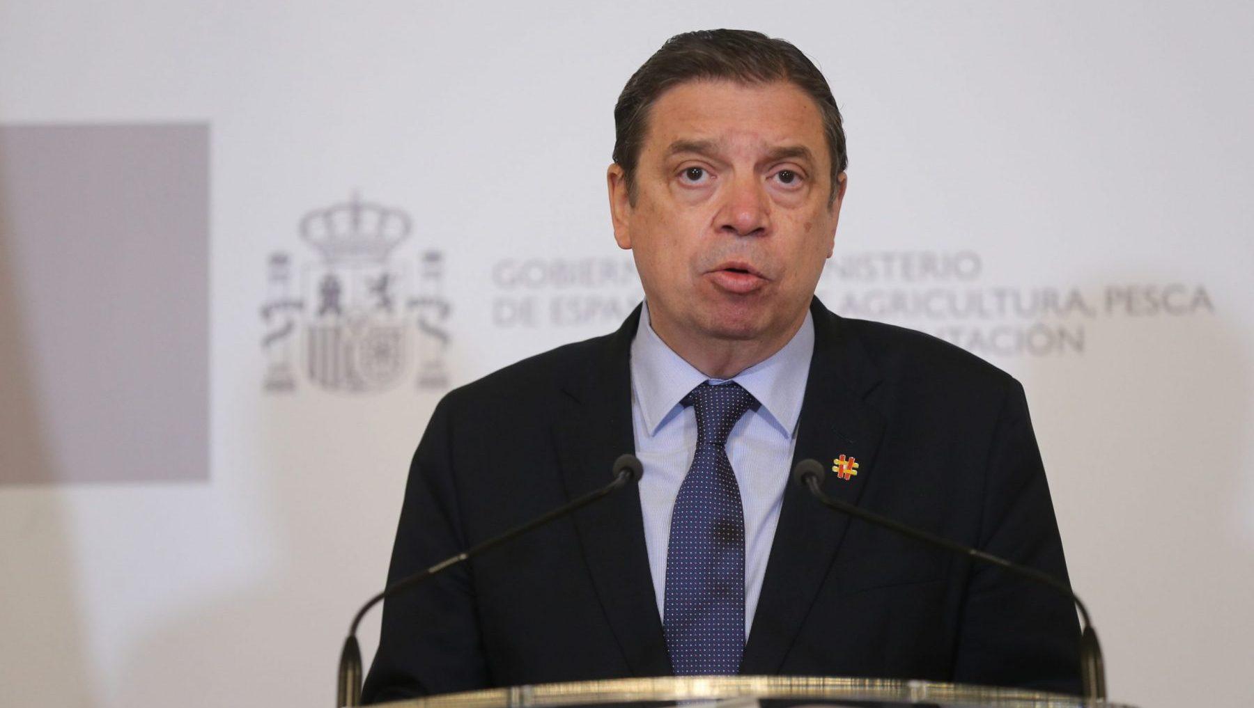 Luis Planas, ministro de Agricultura, Pesca y Alimentación (ISABEL INFANTES / EUROPA PRESS).