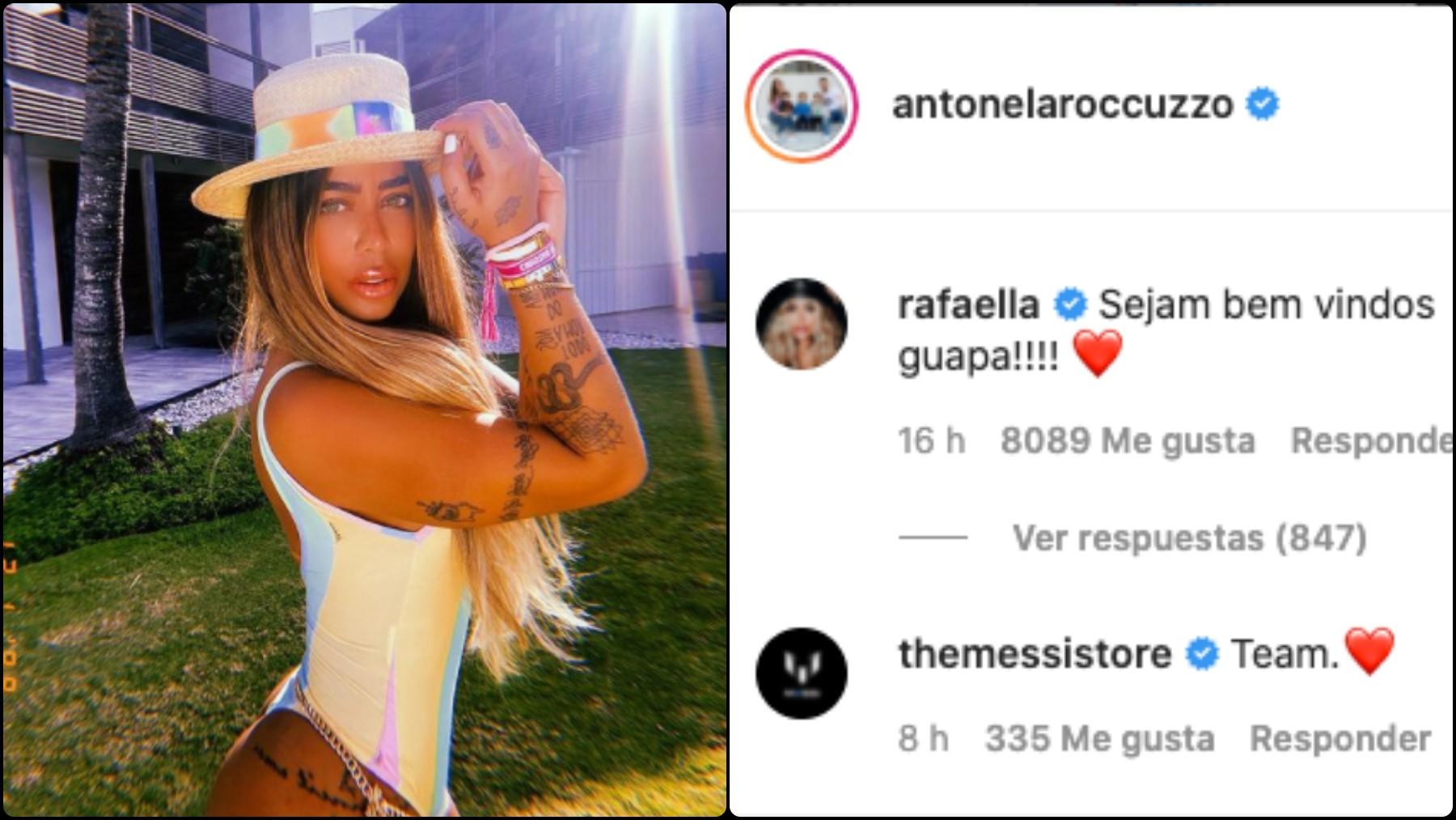 La hermana de Neymar se cuela y confirma el fichaje de Messi: «Sea bienvenido».