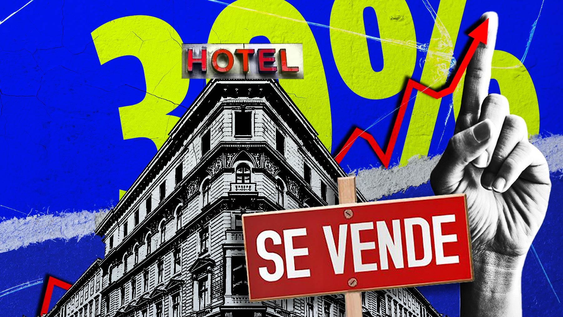Hoteles en venta.