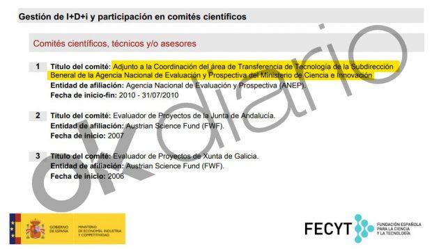 El catedrático Juan Manuel Corchado fue asesor del Ministerio de Ciencia.