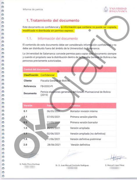 Juan Manuel Corchado pactó con la Fiscalía de Bolivia que nadie pudiera tener acceso a su polémico informe.