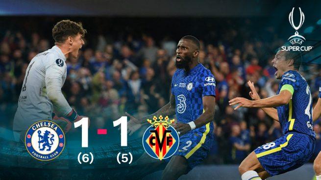Kepa deja sin Supercopa a un Villarreal heroico