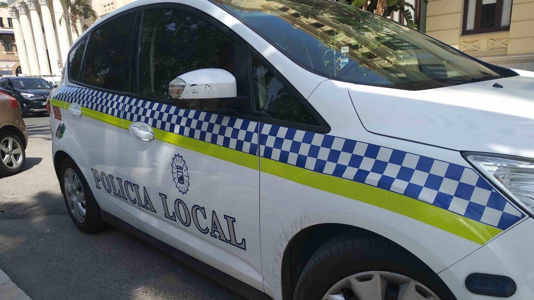 Coche patrulla de la Policía Local de Málaga (EUROPA PRESS).