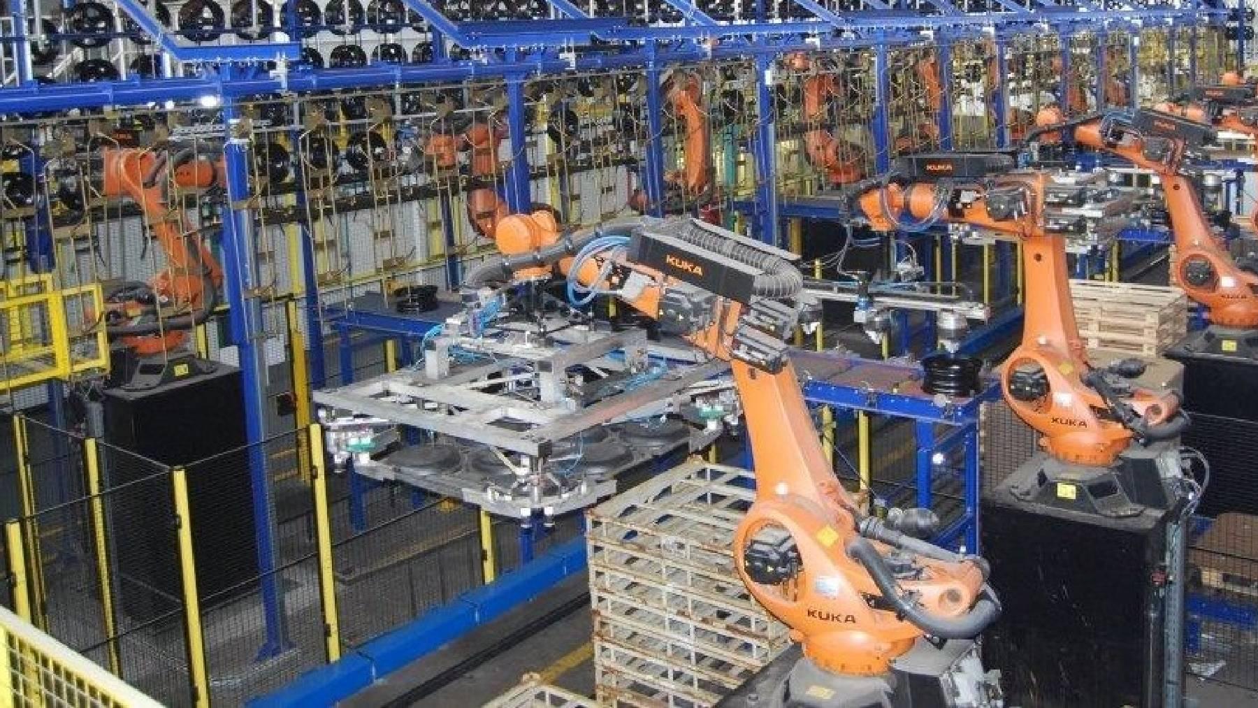 Industria metalúrgica.