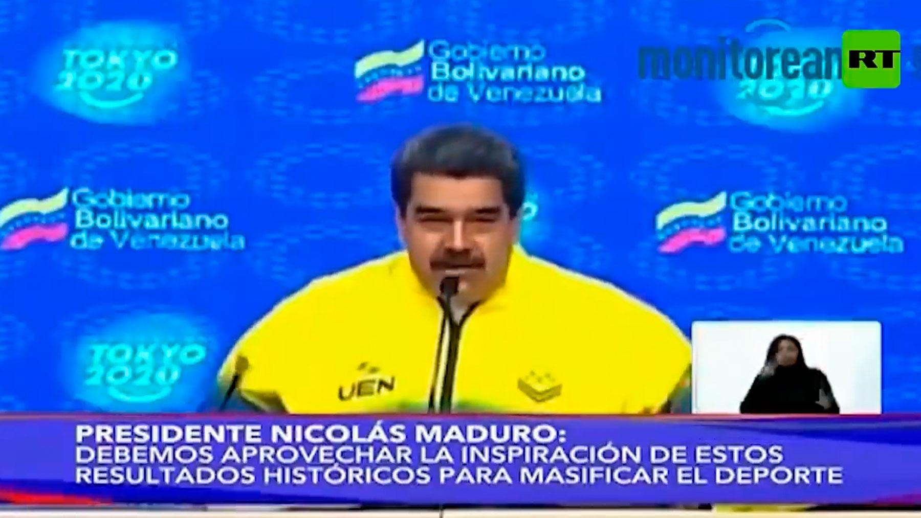 Maduro definde a Messi.