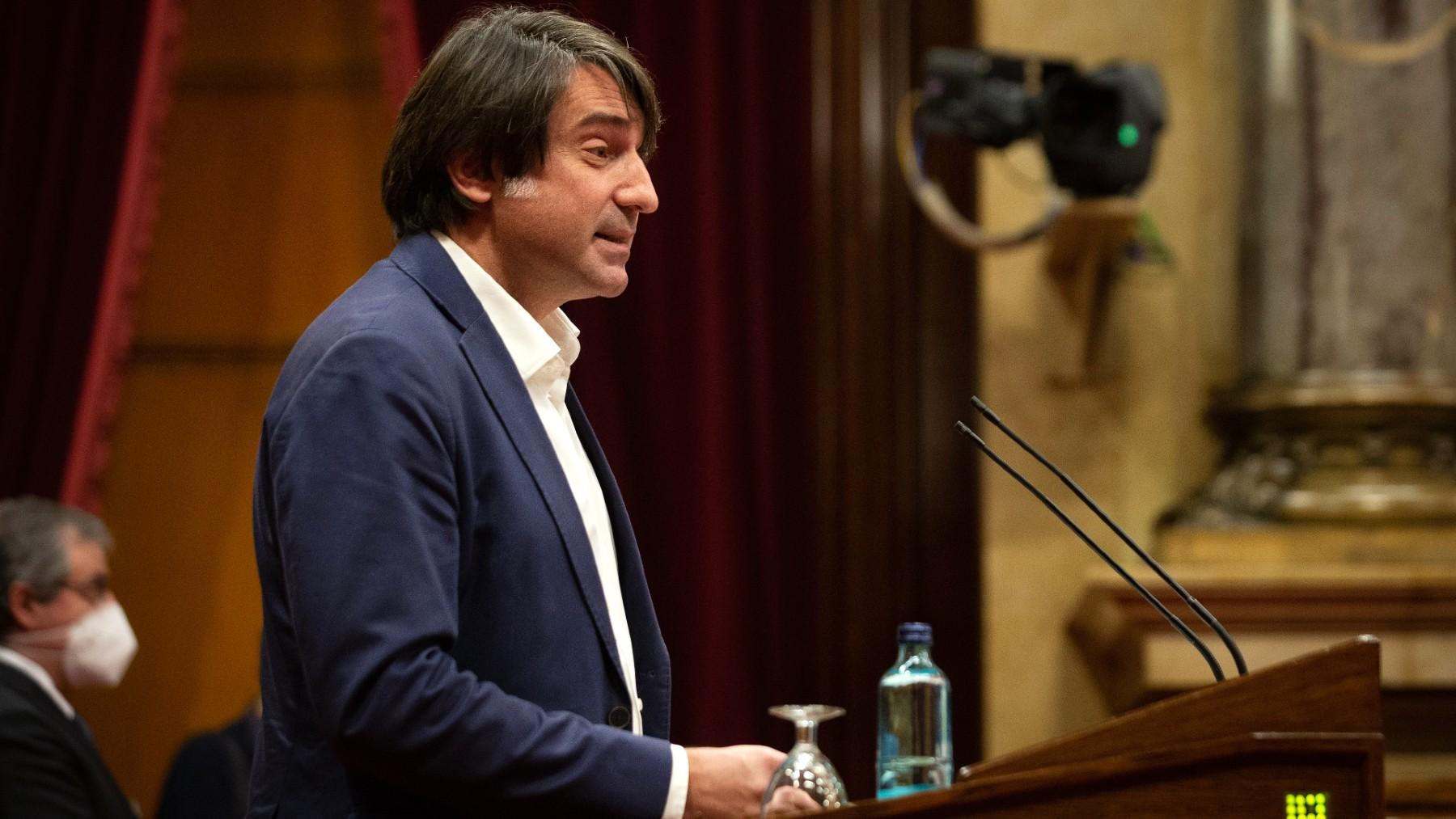 El diputado de JxCAT en el Parlament Francesc de Dalmases. (Foto: Europa Press)