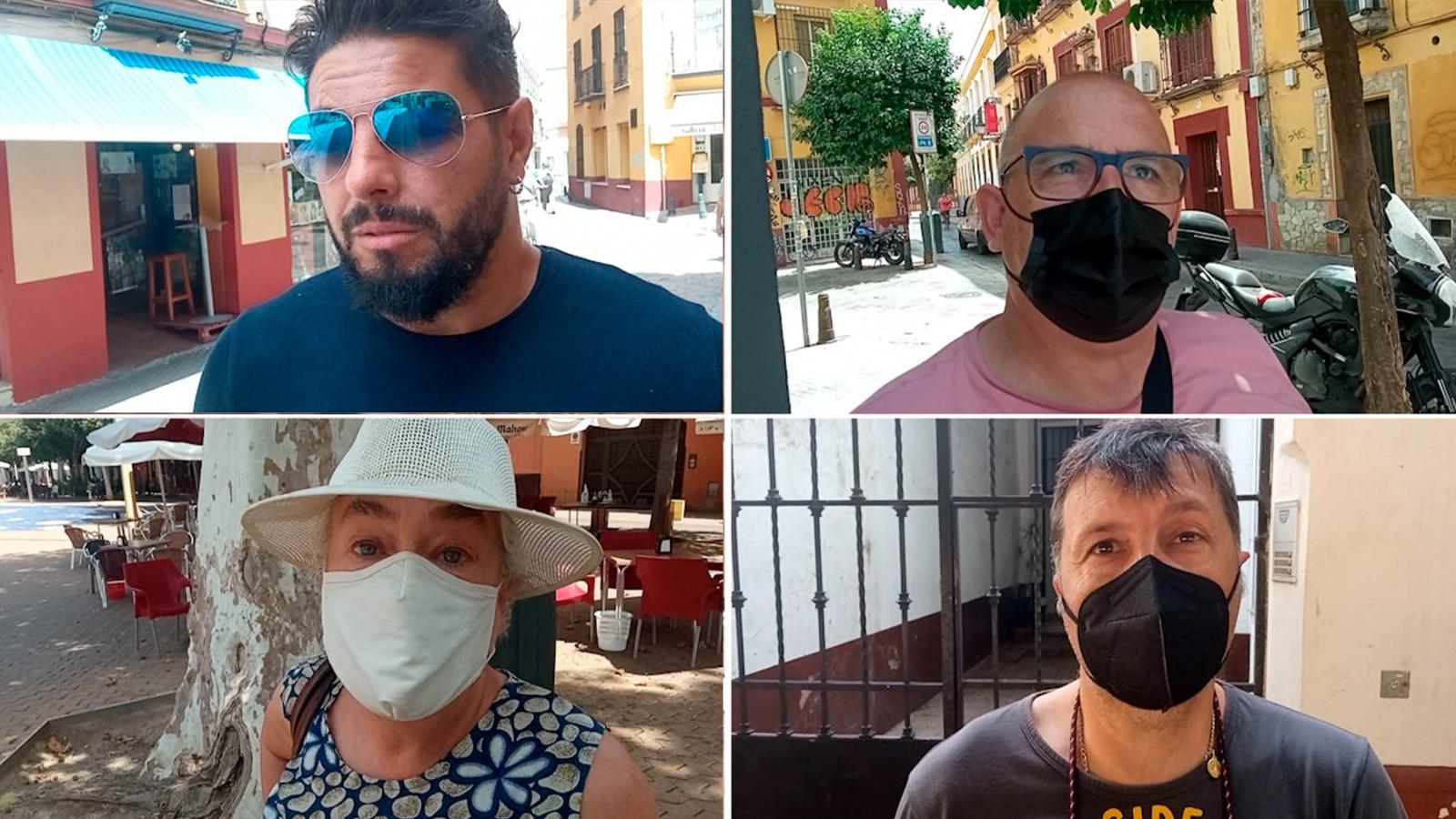 Sevilla contra la discriminación del PSOE a Ramón, asesinado por su mujer: «El hombre también es víctima».