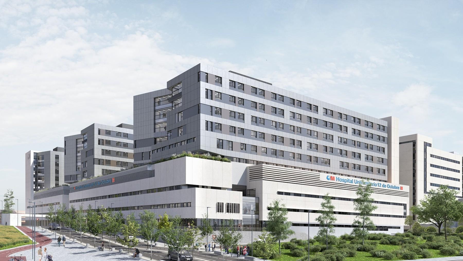 Ampliación del Hospital 12 de Octubre.