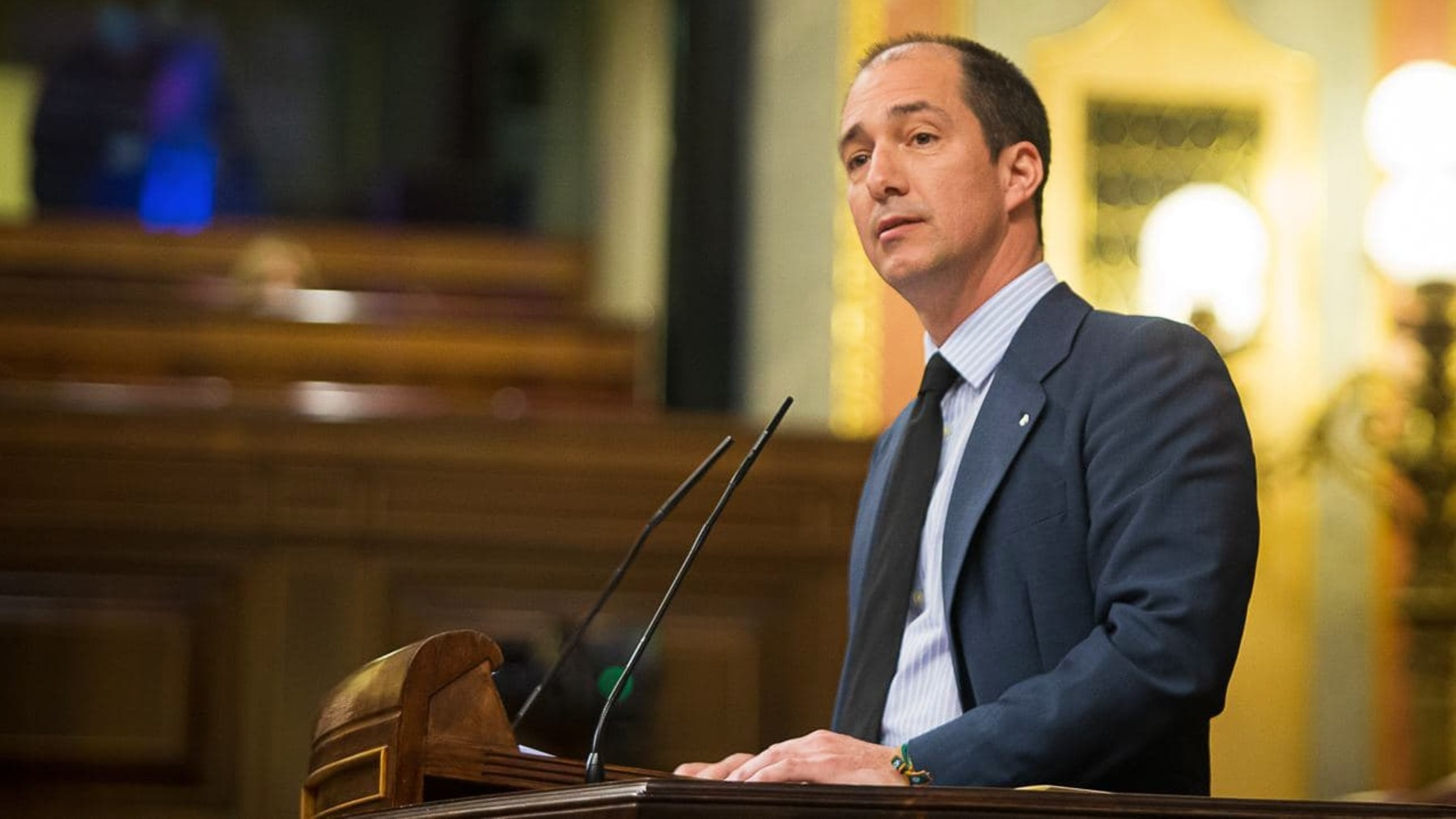 El diputado de Vox Víctor González. (Foto: Europa Press)