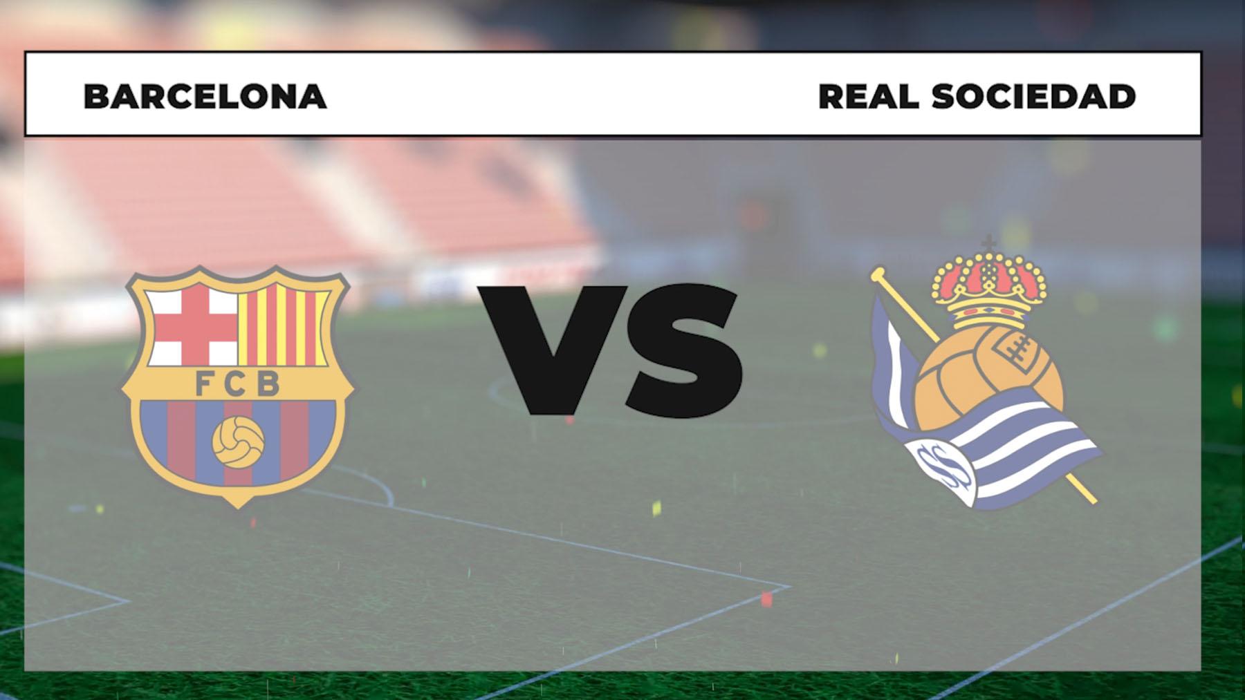 Barcelona – Real Sociedad: jornada 1 Liga Santander