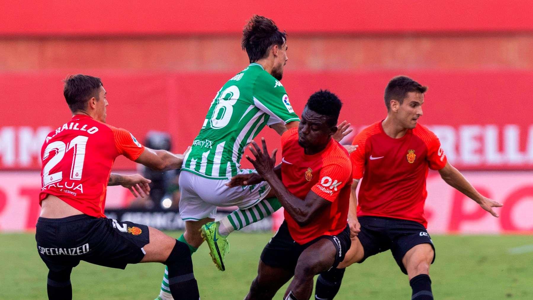 Mallorca y Betis empatan en la primera jornada. (EFE)