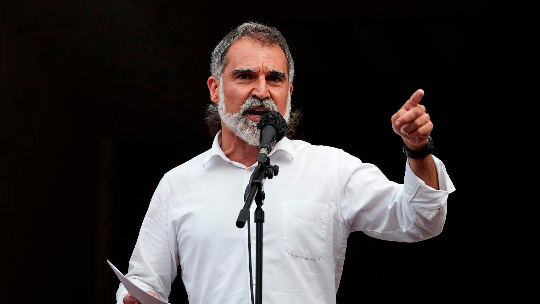 El presidente de Omnium Cultural, Jordi Cuixart.