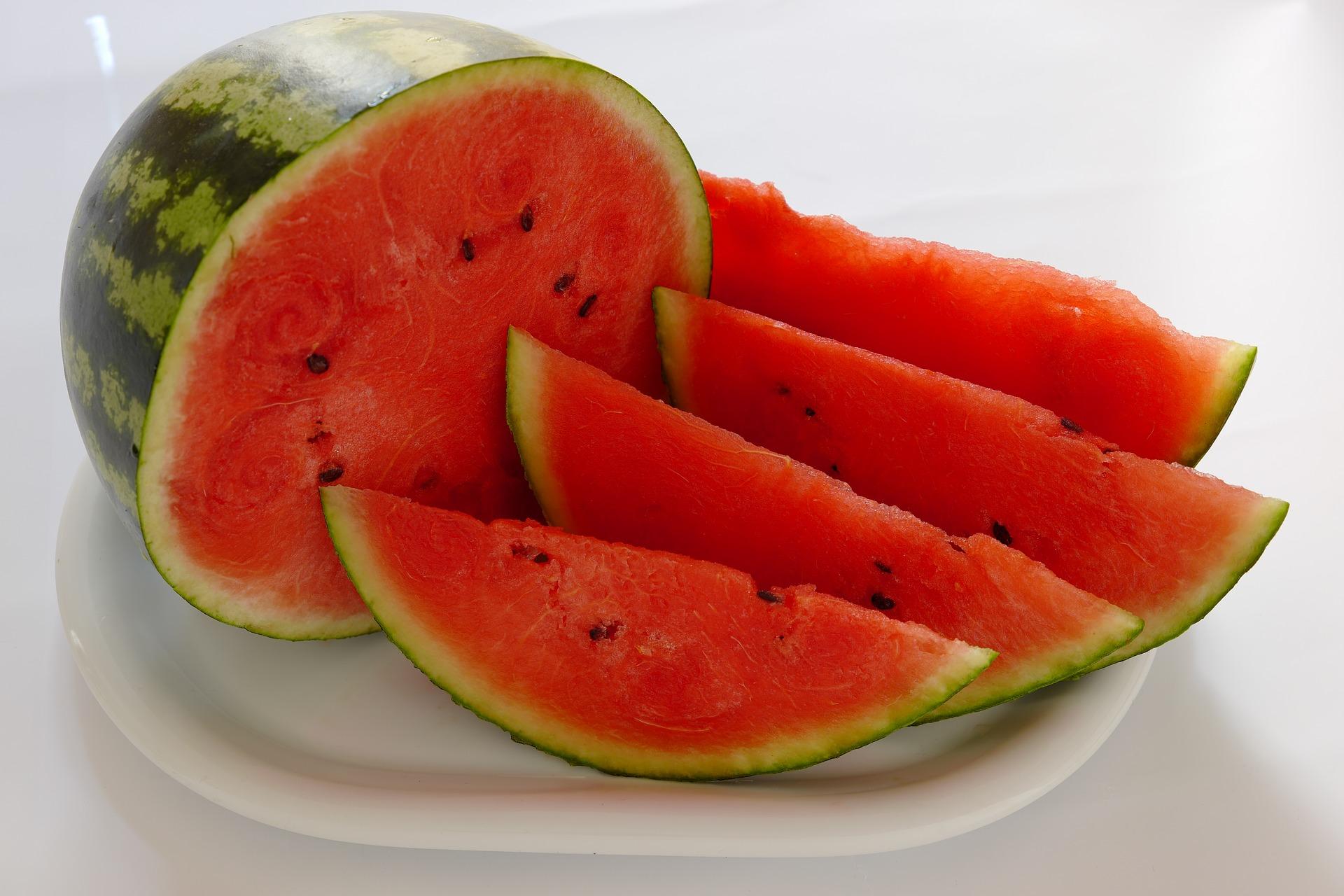 Frutas y verduras con más agua para afrontar la ola de calor
