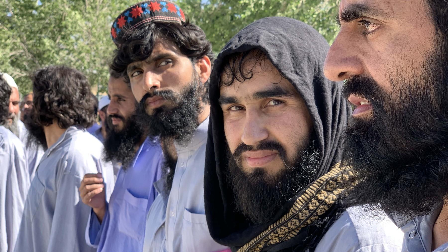 Miembros de los Talibanes. Archivo.