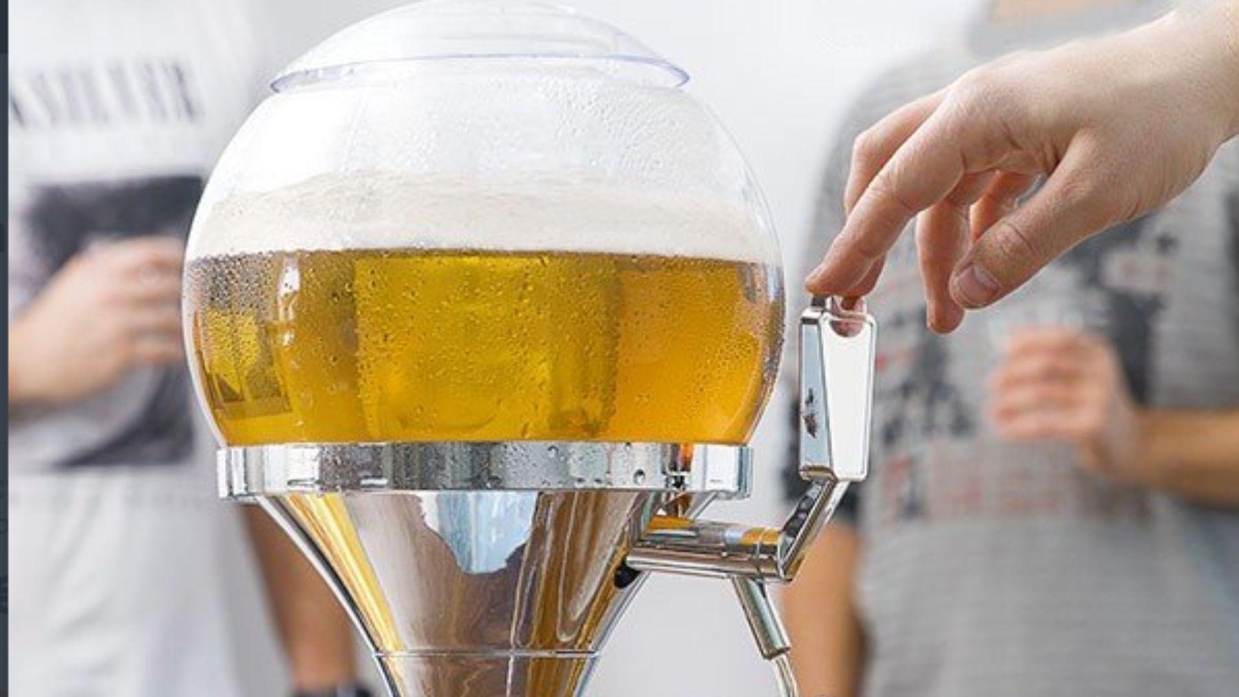 El dispensador para tu cerveza en Carrefour