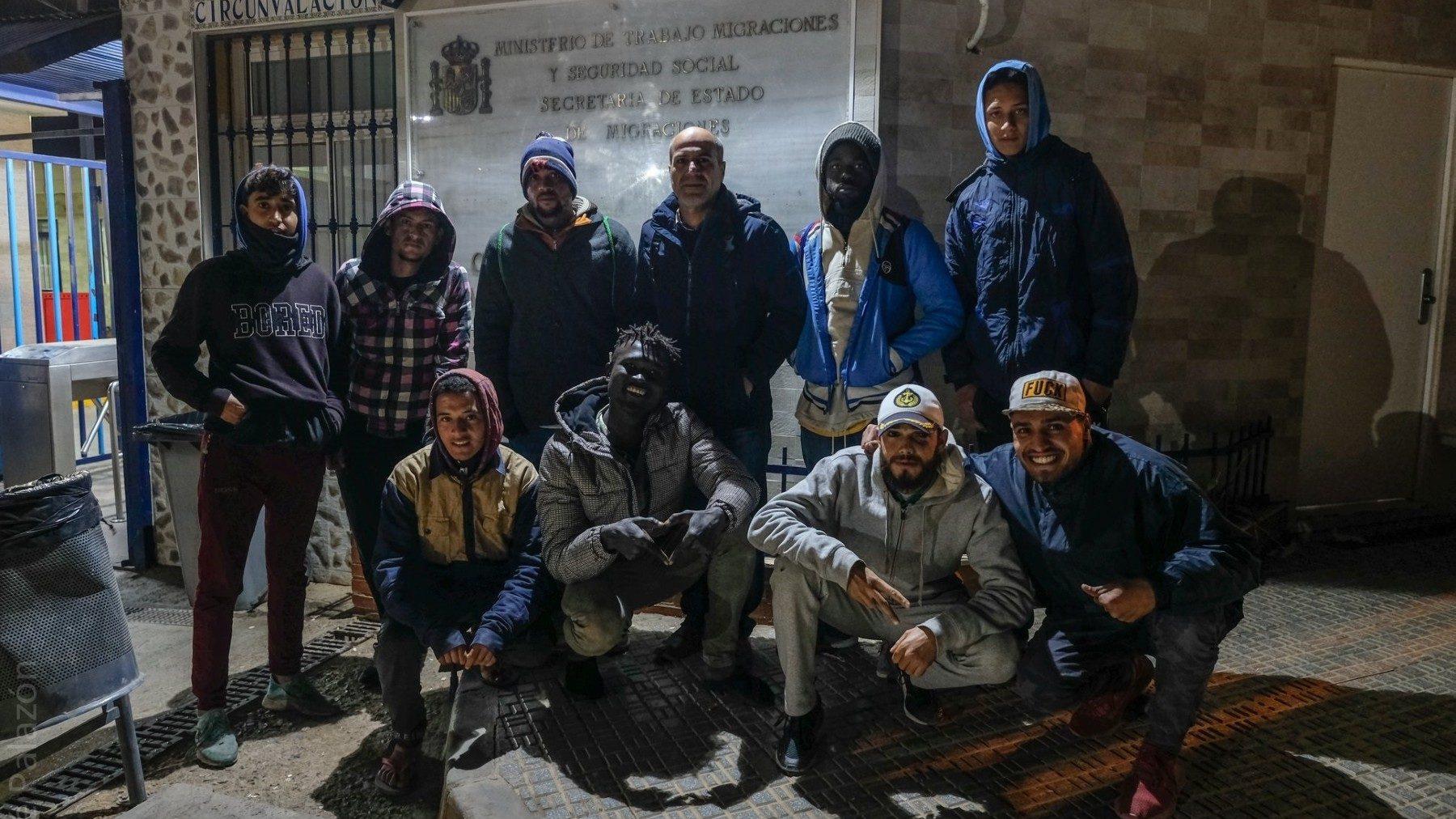 Inmigrantes en Melilla (PRODEIN). (1)