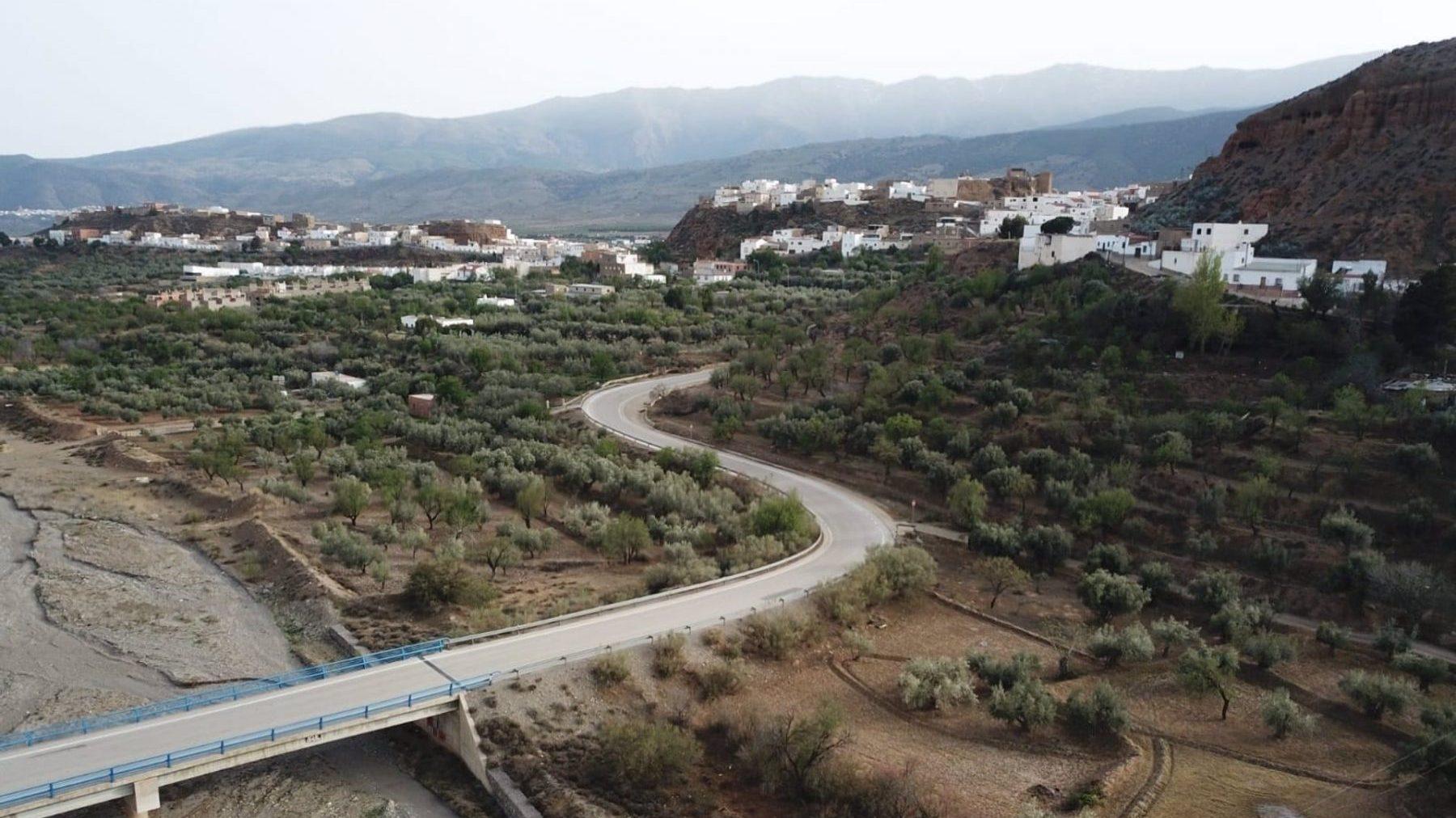 Paisaje de Fiñana, en Almería (AYUNTAMIENTO DE FIÑANA).