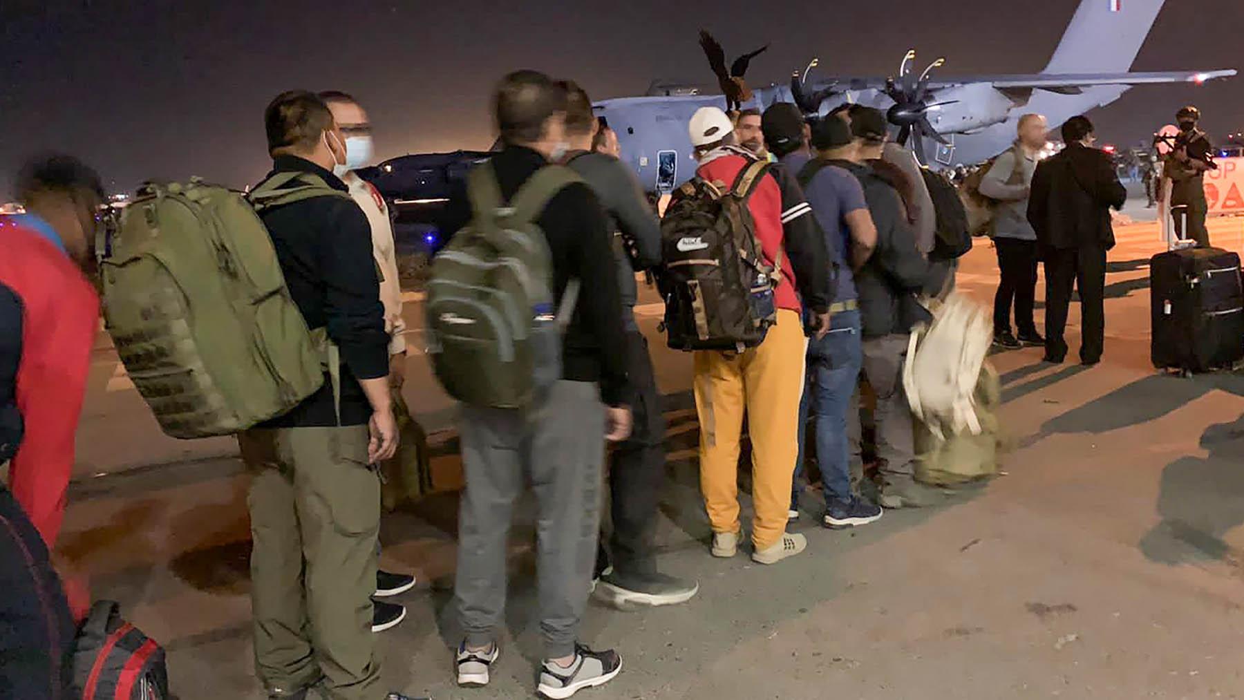 Repatriaciones en Kabul (Foto: AFP)